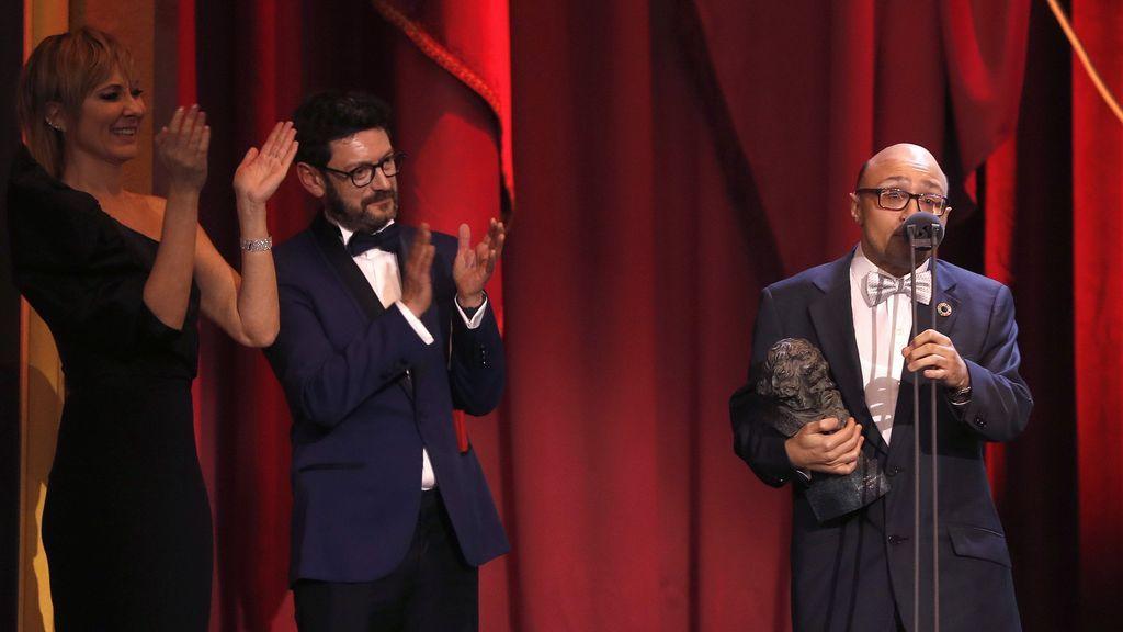 """Sánchez aplaude el discurso de Jesús Vidal: """"Ha hablado a nuestros corazones ¡Sois campeones!"""""""