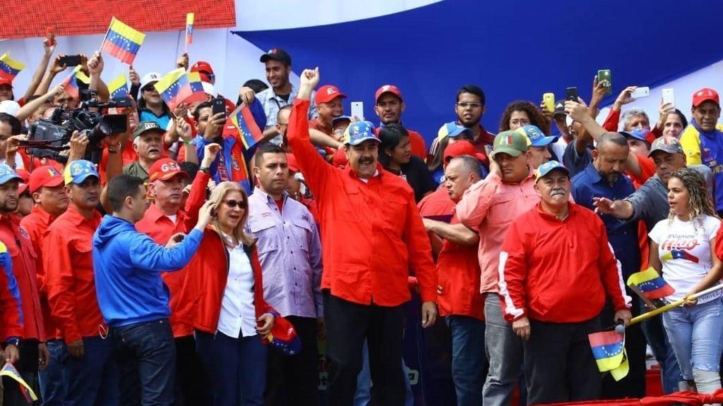 Maduro proclama el fracaso del golpe de Estado de Guaidó y Estados Unidos