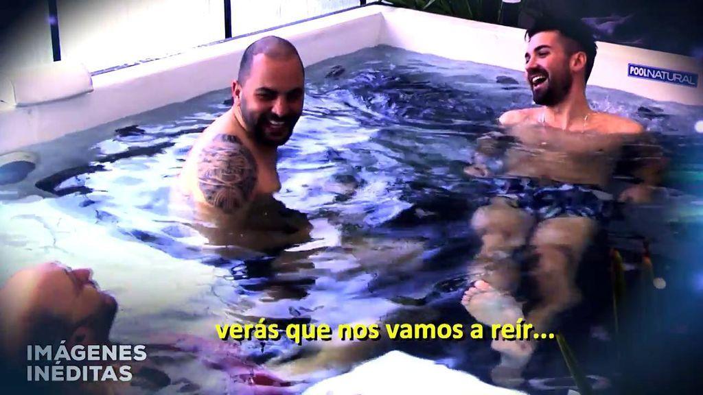 En el jacuzzi y partiéndose de risa: Antonio Tejado tarda dos días en superar la marcha de Candela