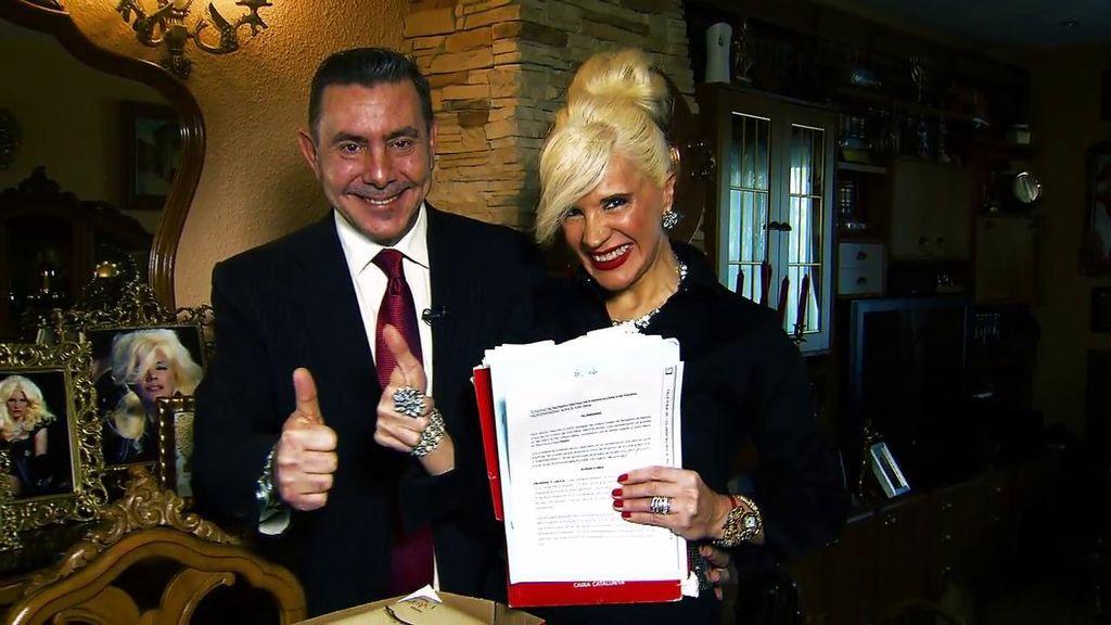 Loli Álvarez y su marido, millonarios por sorpresa