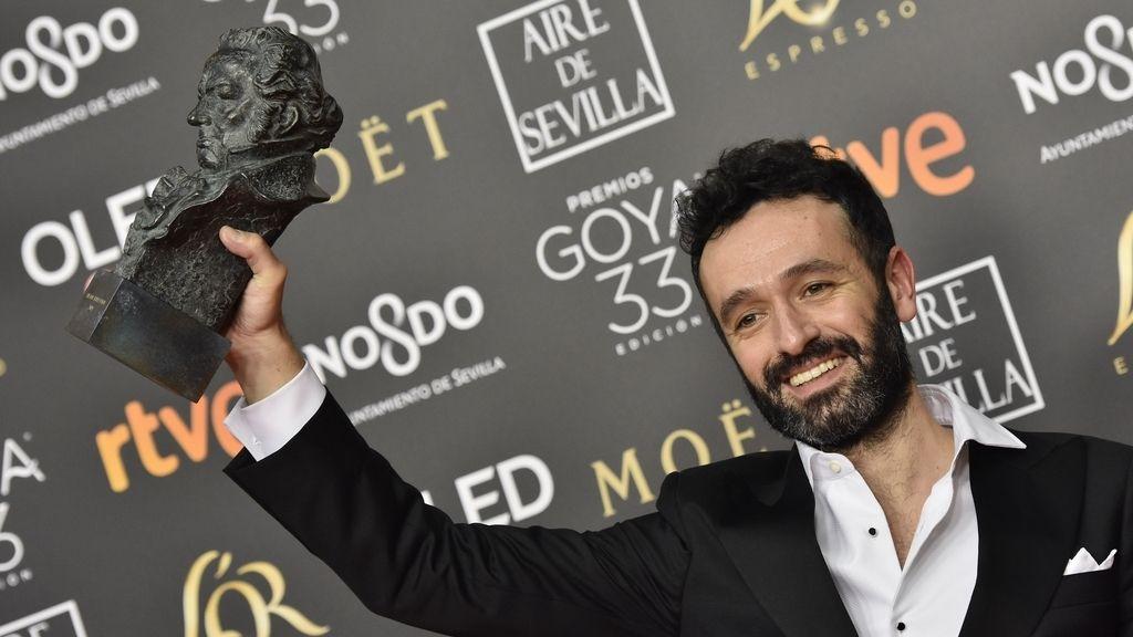 Alegría entre los ganadores de los Premios Goya  2019