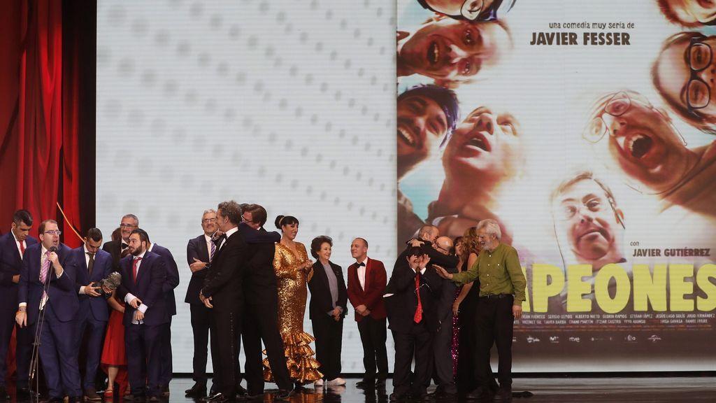 Premios Goya  2019: alegría entre los ganadores y otros momentos de la noche del cine español