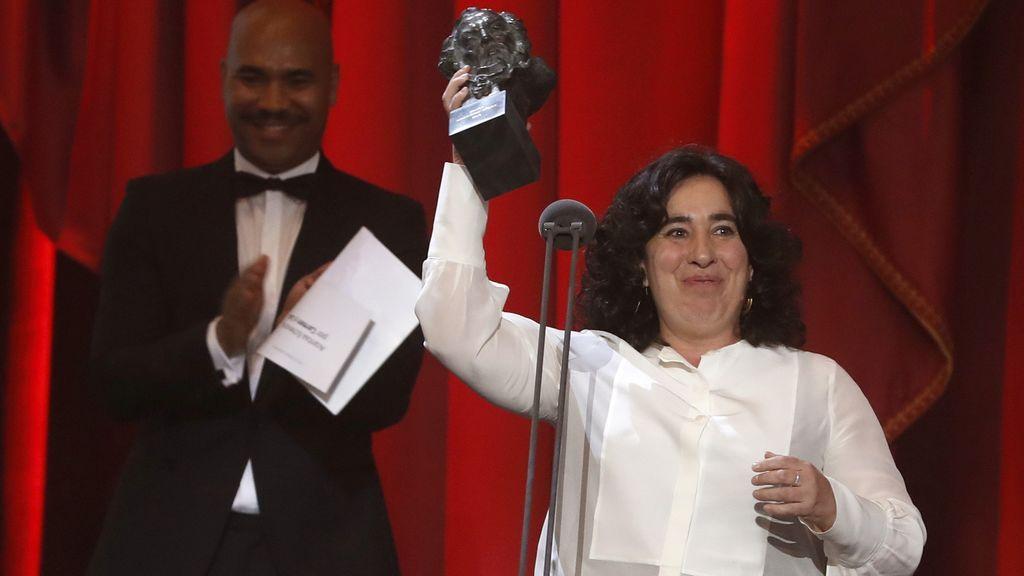 """Arantxa Echevarría dedica su Goya a Vox: """"Para que vean una película de gitanas, lesbianas y mujeres"""""""