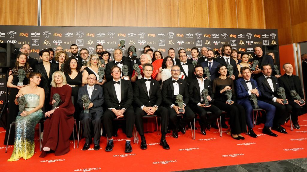 'Superlópez', Goya a los mejores efectos especiales, en la noche del cine español