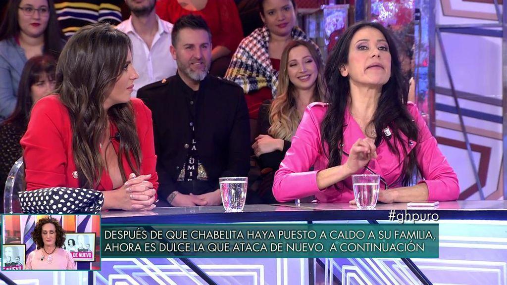 Maite Galdeano hace su casting particular para 'LQSA' e imita a María Jesús Ruiz