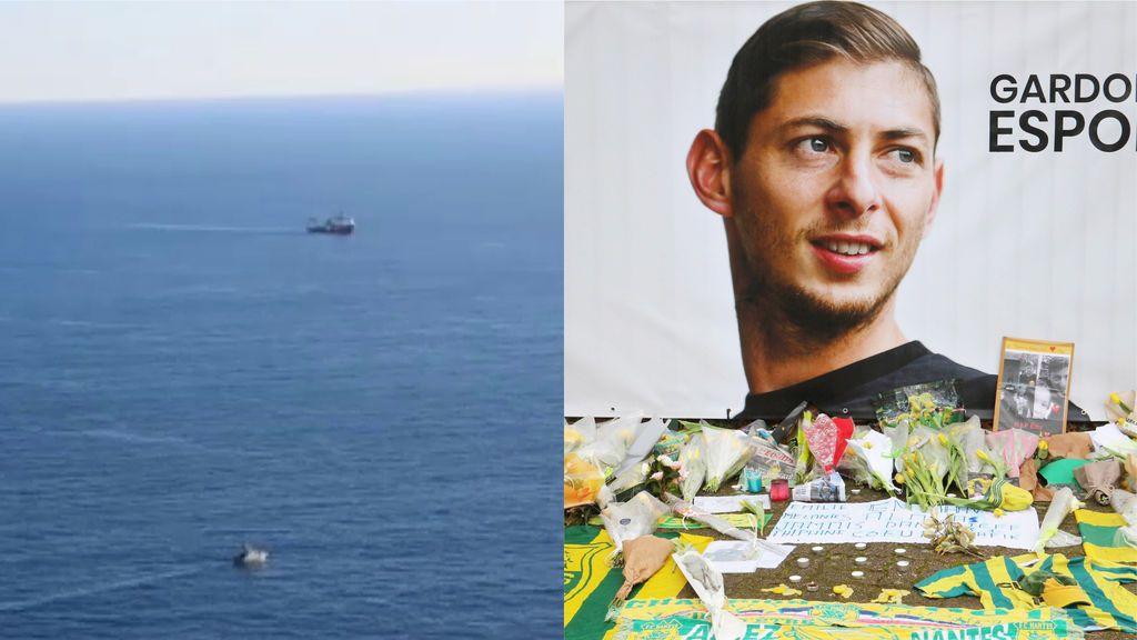 Comienza la búsqueda submarina del avión del futbolista Emiliano Sala