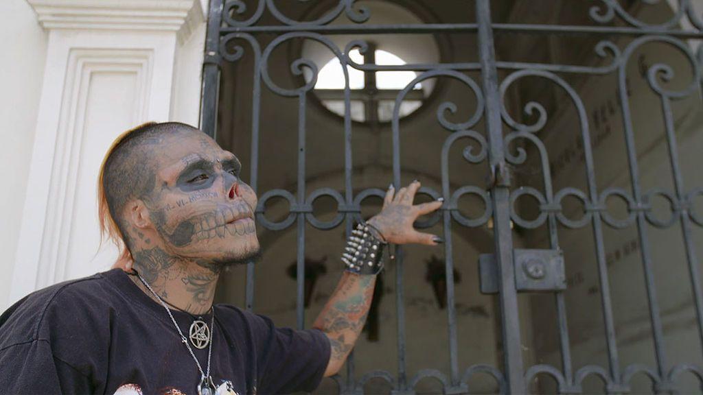 Kalaca Skull, el segundo hombre calavera del mundo