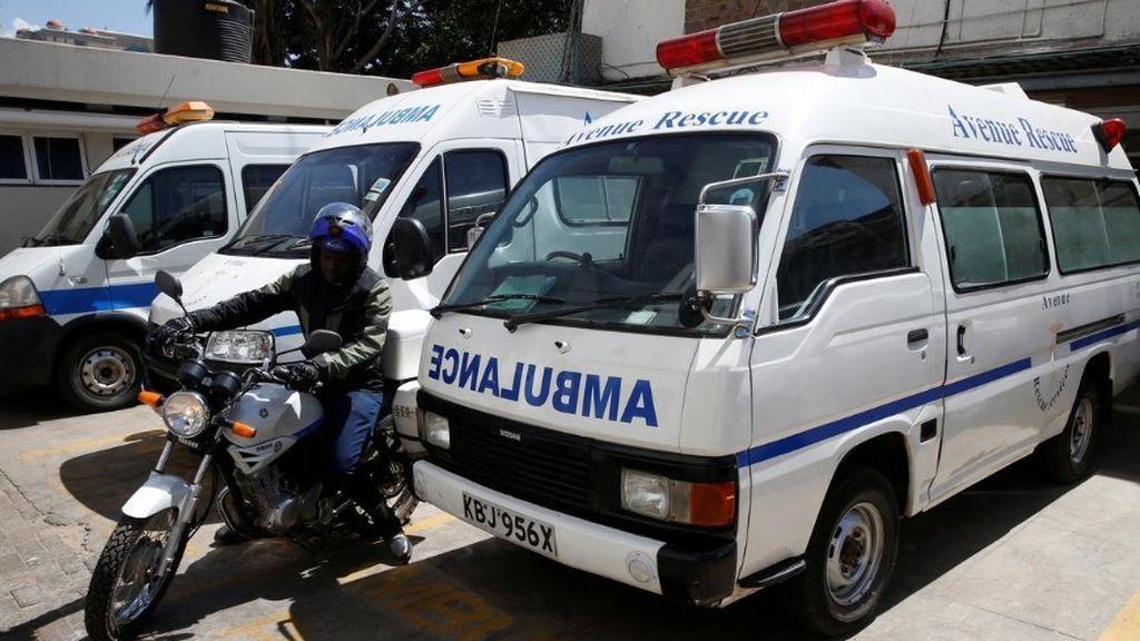 El 'uber' de las ambulancias que salva vidas en Kenia