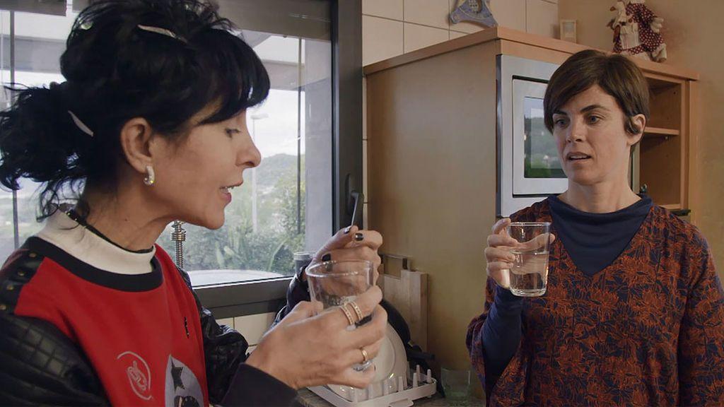 """Samanta rompe su ayuno: """"El agua tiene sabor"""""""