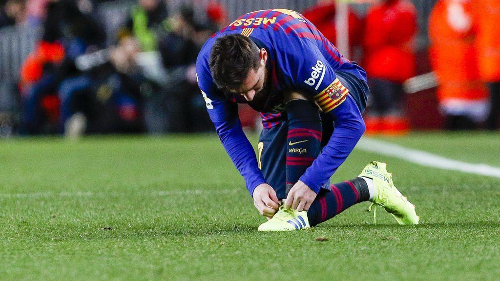 Messi no se entrena y saltan las alarmas para el Clásico del miércoles