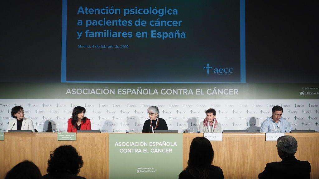 En España, el tratamiento psicológico a personas afectadas por cáncer es insuficiente o nulo