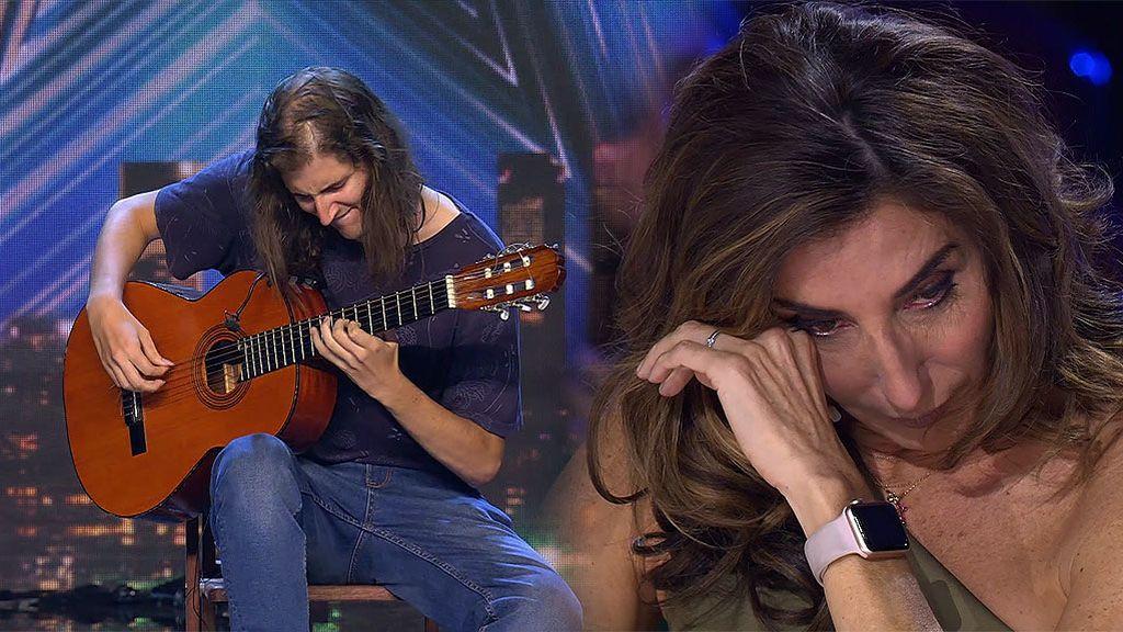 """Rubén y su canción 'Rabia dulce' hacen llorar a Paz: """"Eres un ser especial, así me lo ha transmitido tu música"""""""