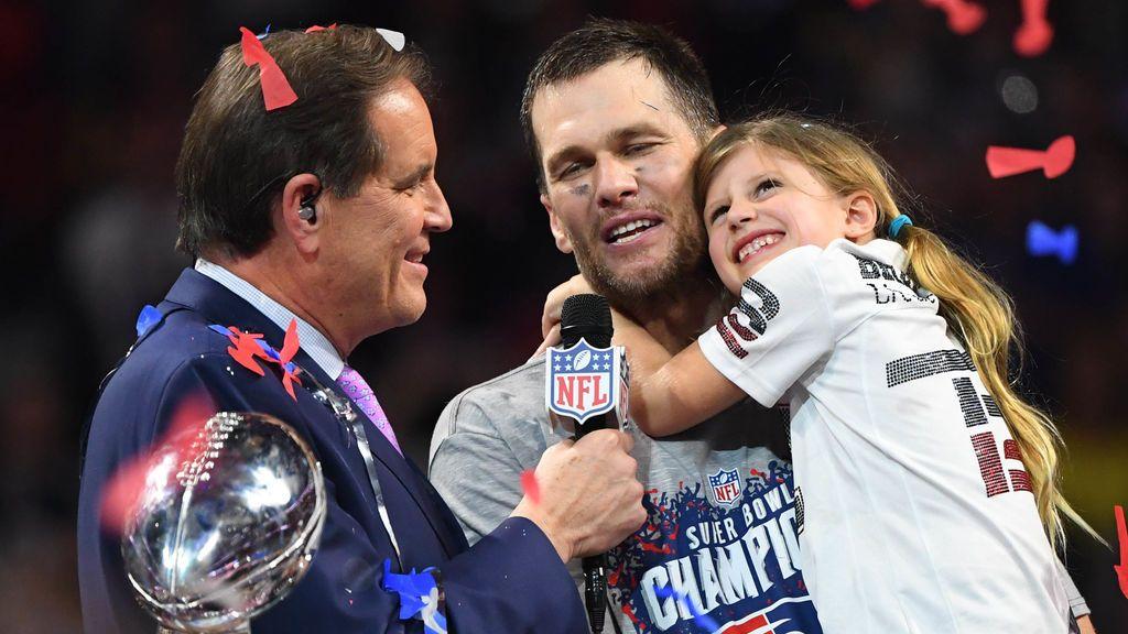 Tom Brady hace historia con su sexto anillo tras la victoria de Los Patriots ante Los Ángeles Rams en la SuperBowl