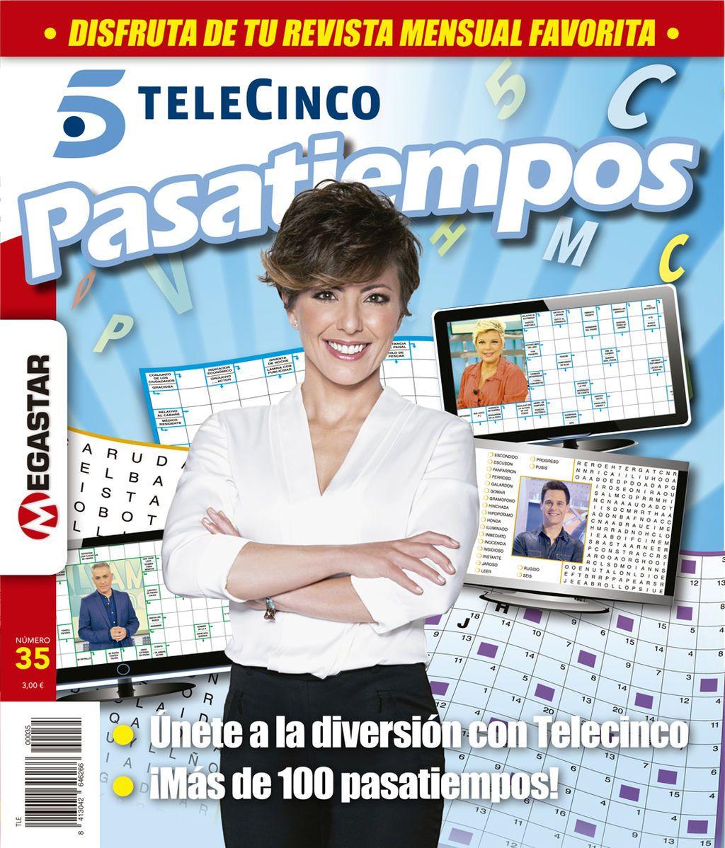 ¡Hazte ya con el nuevo número de 'Telecinco Pasatiempos'!