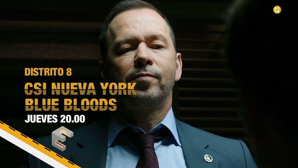 CSI: Nueva York y Blue Blood, los jueves en Distrito 8