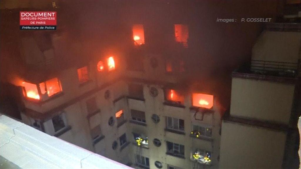 Una mujer, detenida en París tras incendiar su edificio y matar a diez vecinos