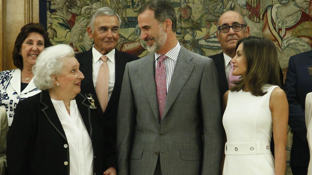 Preocupación en Zarzuela por la salud de Pilar de Borbón: así es su entorno más cercano