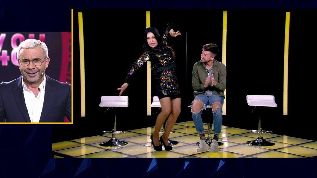 El surrealista encuentro entre Maite y Alejandro termina con ella bailando flamenco