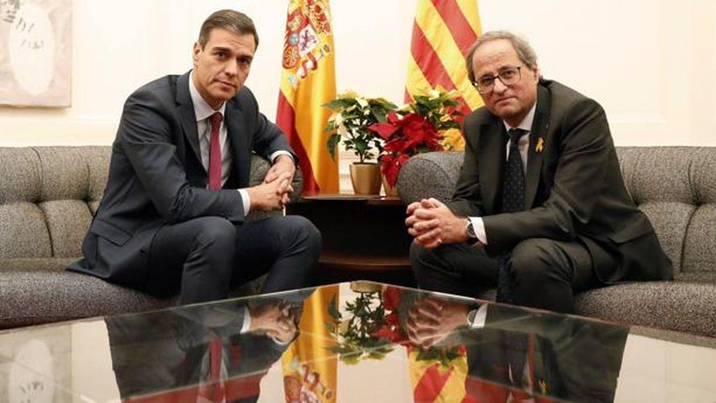 Desvelan los 21 puntos del 'pacto de Estado' que Torra pidió a Sánchez