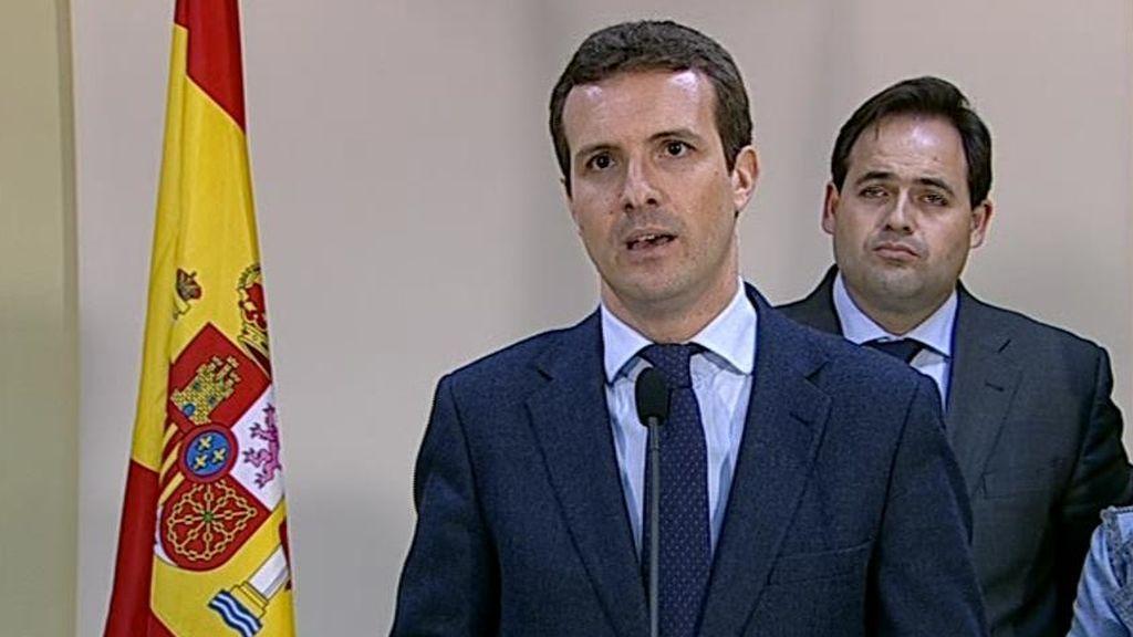 """""""Traidor, incompetente, incapaz, felón..."""" los insultos de Pablo Casado a Pedro Sánchez"""