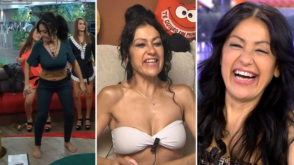 Bailes, imitaciones... Los mayores talentos de Maite Galdeano, en un solo vídeo