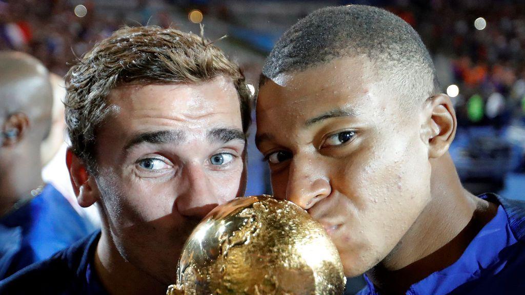 """Griezmann tienta a Mbappé a fichar por el Atlético de Madrid: """"Colchonero, vente"""""""