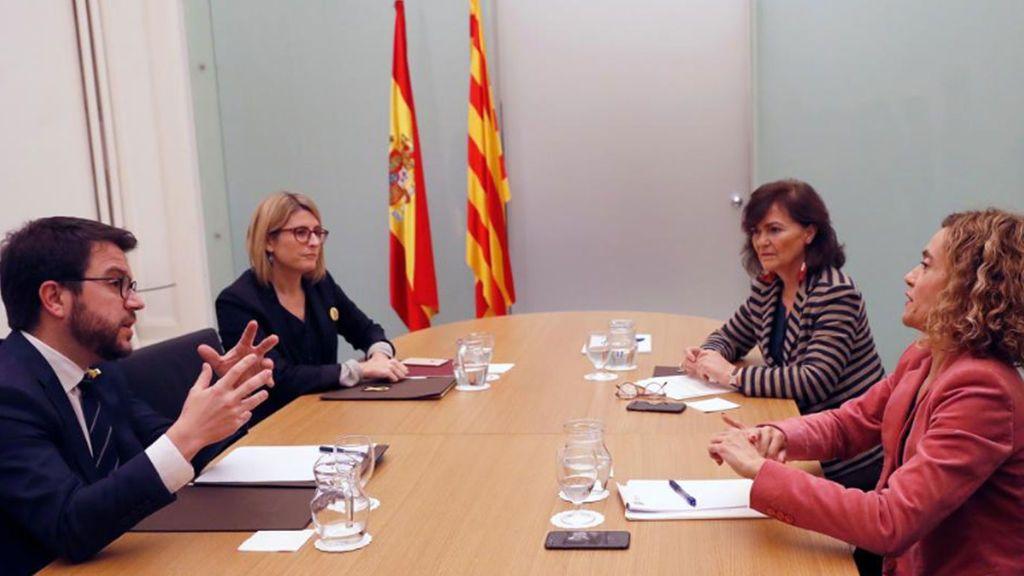 La Generalitat propone una lista de coordinadores para el diálogo con el Gobierno