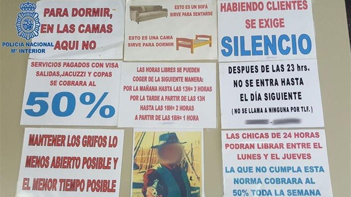 """Un hombre de 65 años, detenido por regentar un prostíbulo en """"condiciones infrahumanas"""" en Palma"""