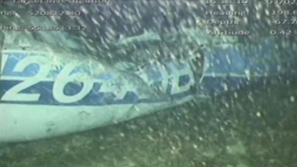 Recuperan el cuerpo de la avioneta en la que viajaba Emiliano Sala