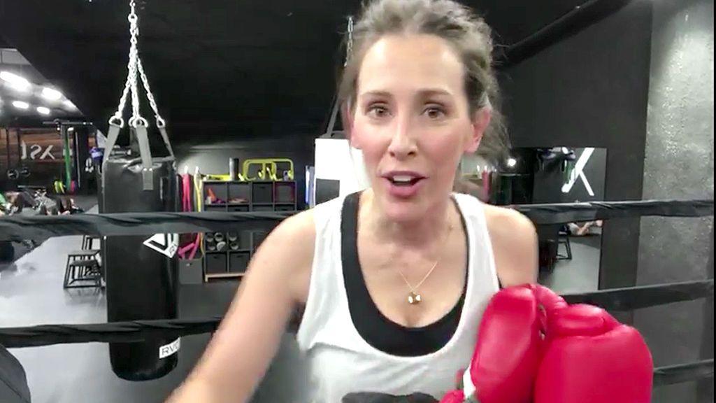 Adela Úcar saca músculo ante su nuevo gran reto: 'Cuatro al día'