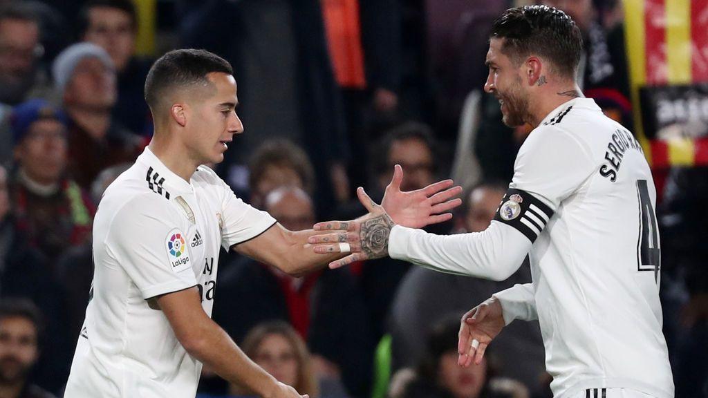 El Madrid silencia el Camp Nou a los cinco minutos pero el Barça despierta a tiempo