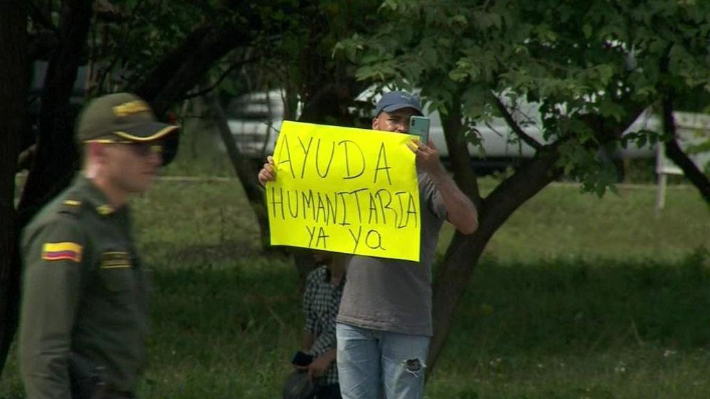 Llega el primer envío de ayuda humanitaria a la frontera de Venezuela