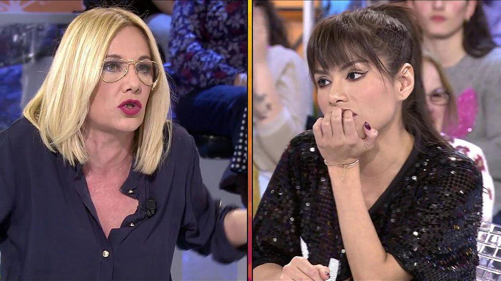 """Belén Ro, contra Miriam Saavedra: """"Te has convertido en nada, no te trago"""""""