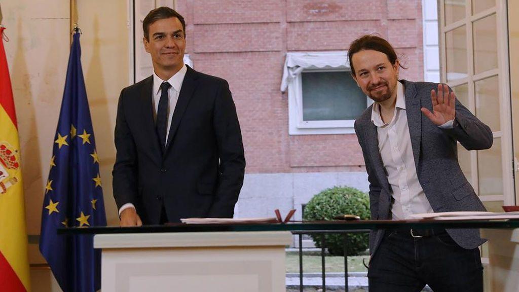 Pedro Sánchez y Pablo Iglesias se reúnen en secreto para desbloquear los Presupuestos