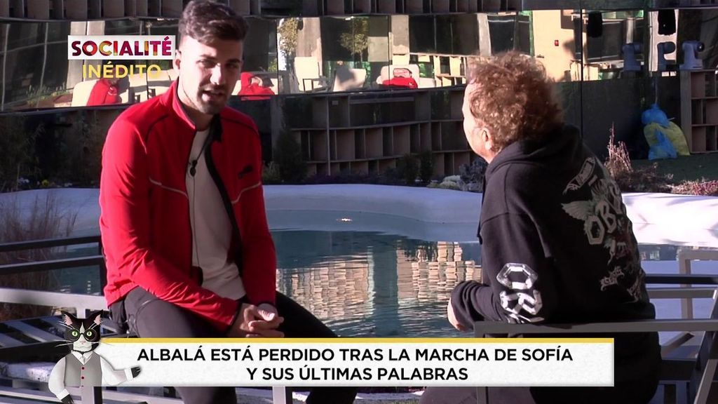 Alejandro Albalá está perdido tras las últimas palabras de Sofía