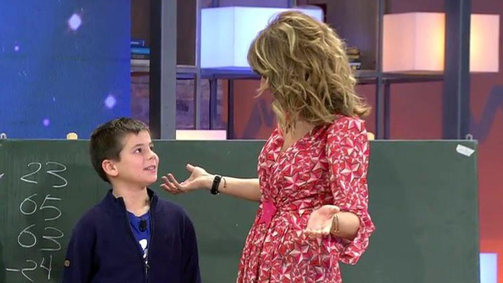 Estrenamos 'Viva Talent' y descubrimos a Iván, el niño de 9 años experto en matemáticas
