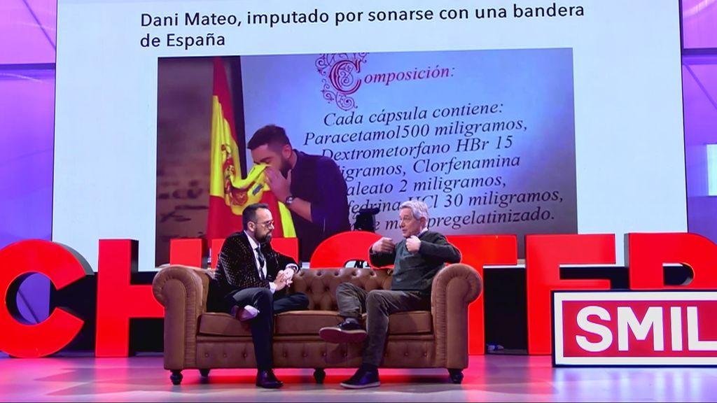 Josema Yuste habla de la polémica Dani Mateo y la bandera:  el riesgo y los límites de la ofensa