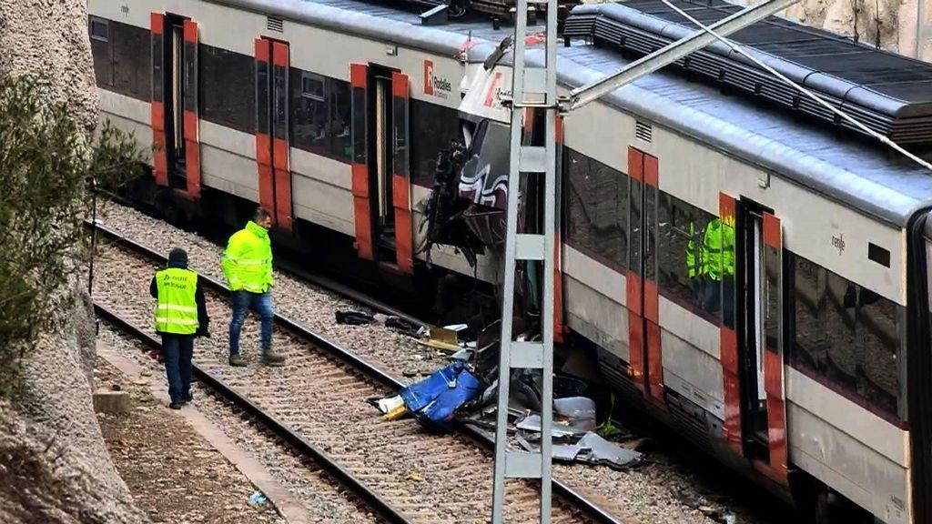 El choque de trenes en Barcelona se produjo en una línea que acumula problemas y accidentes