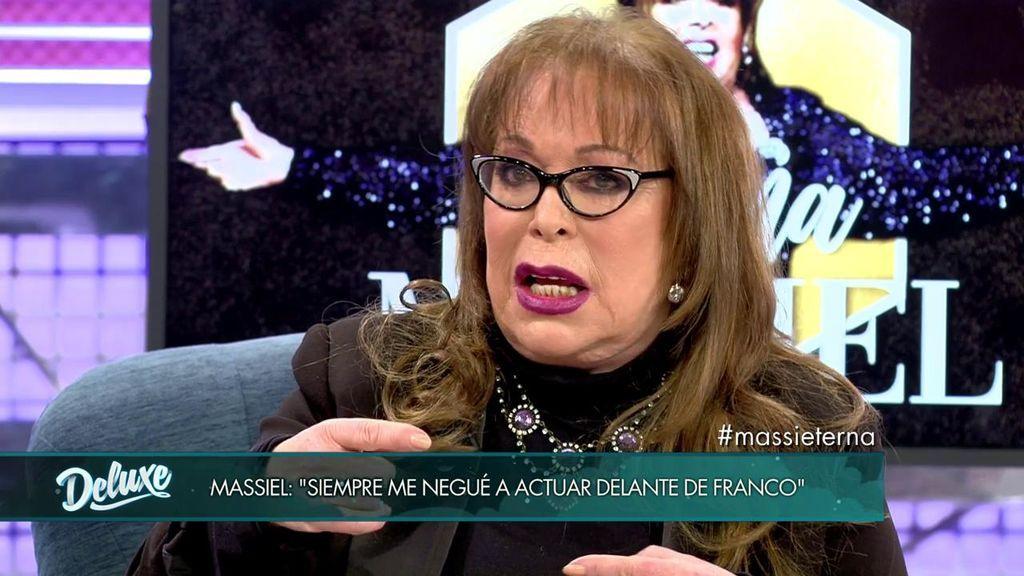 """La rebeldía de Massiel: """"Me llegaron a llenar la casa de esvásticas"""""""