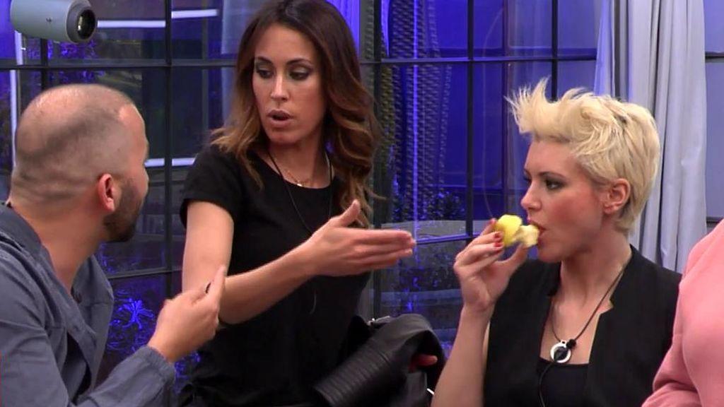 Desaparecen manzanas en 'GH DÚO' y se lía entre Raquel y Antonio