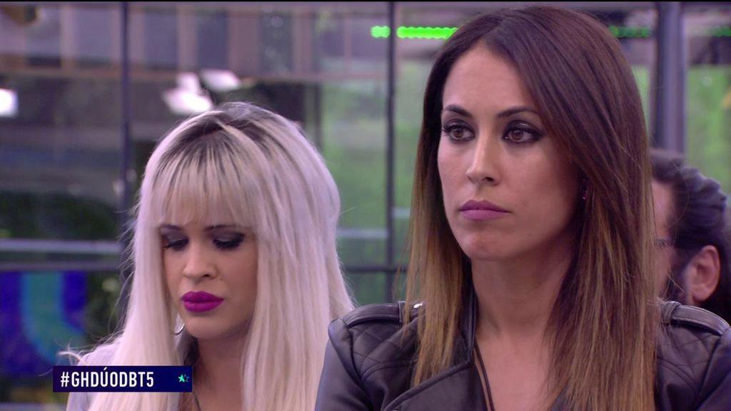 Sorpresa en los posicionamientos: Ylenia prefiere que se vaya su compañera Raquel