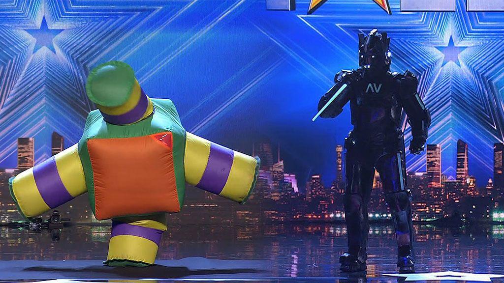 Lady Jenny y The Singing Robot o cómo hacer una actuación indescriptible en 'Got Talent'