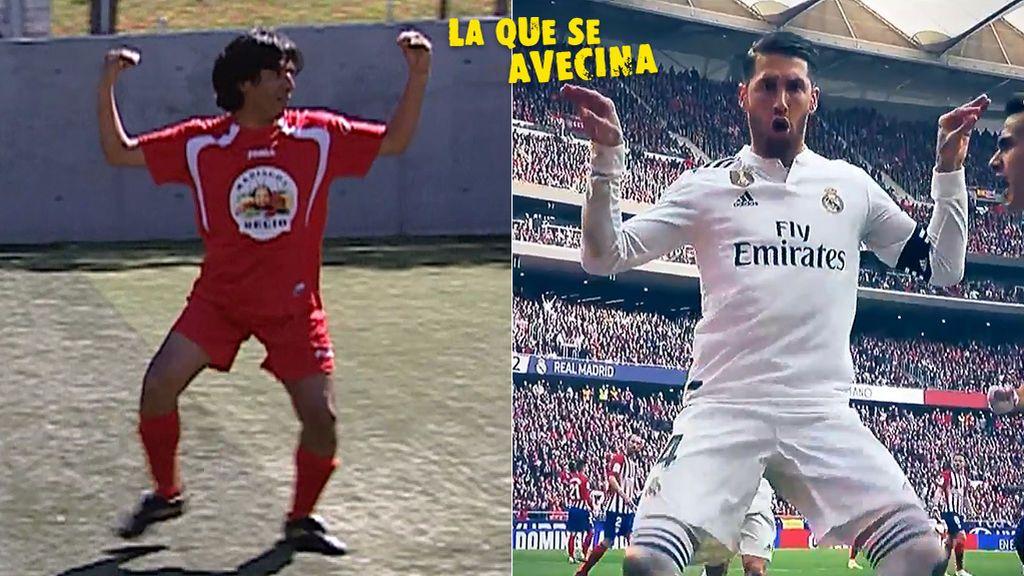 Parrales versus Sergio Ramos: los dos bailes del cangrejo del Recio