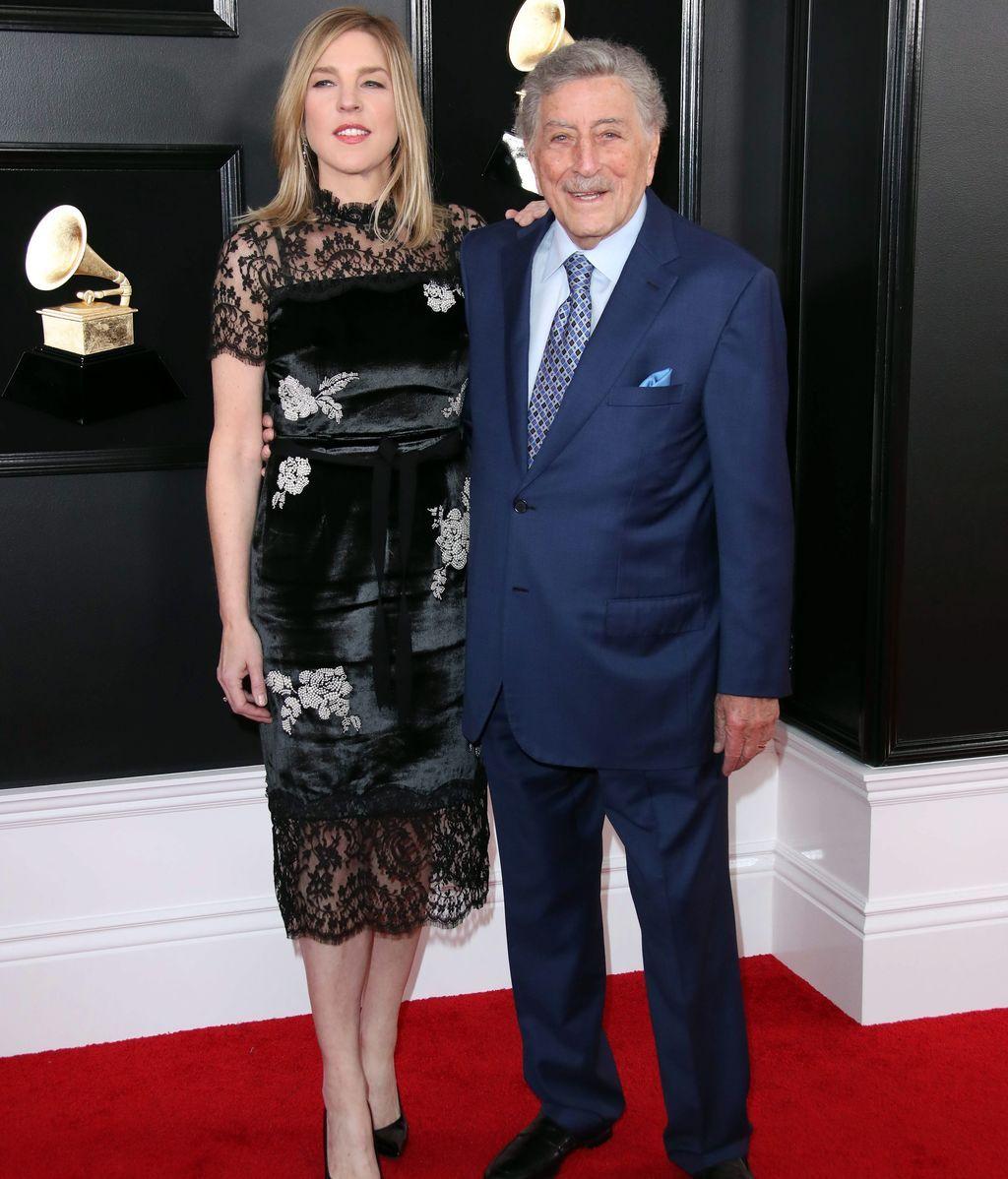 Tony Bennett y Susan Crow