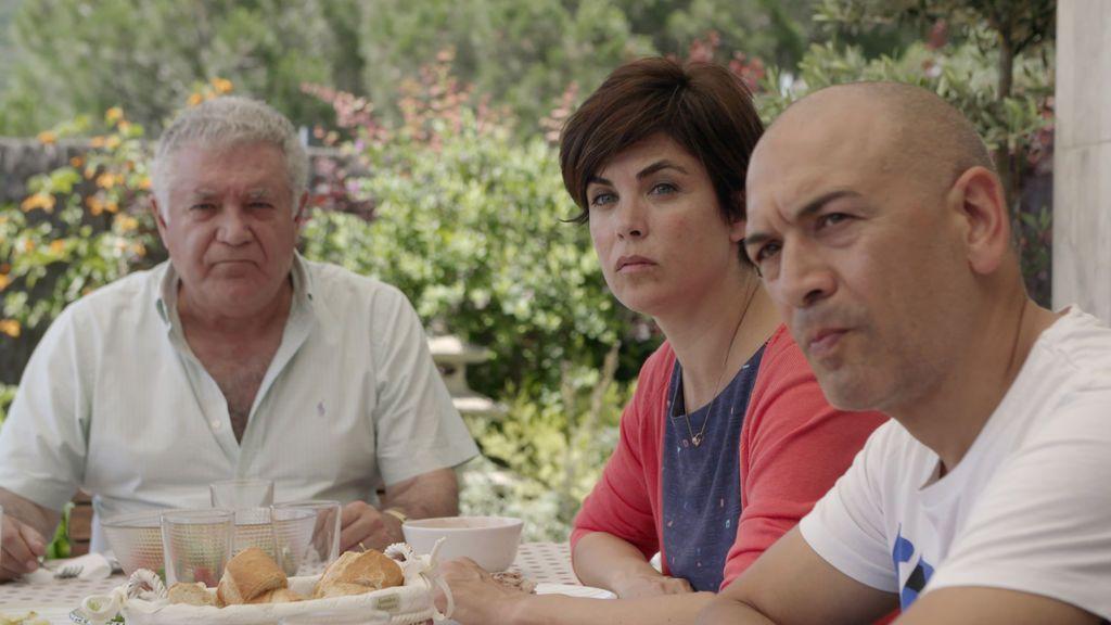 Samanta Villar con su familia, en 'La vida con Samanta'.