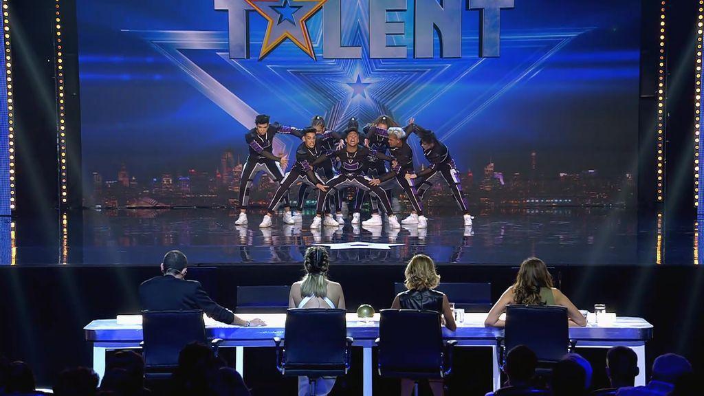 """La danza urbana de 'Inmunes' arrasa: """"Sois uno de los mejores grupos que ha pasado por 'Got Talent"""""""