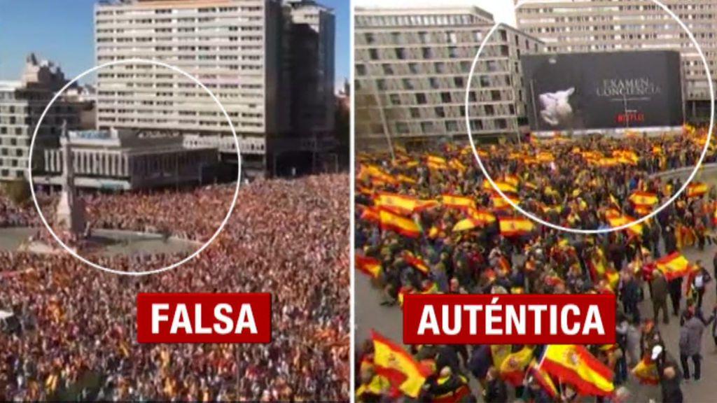 Javier Ruiz analiza las verdades y mentiras de la manifestación en Colón