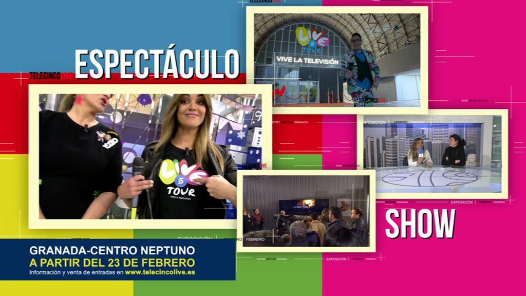 Telecinco Live a punto de llegar a Granada