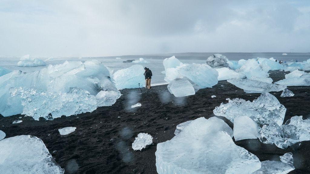 Si quieres ser rico, invierte en arena del deshielo de Groenlandia