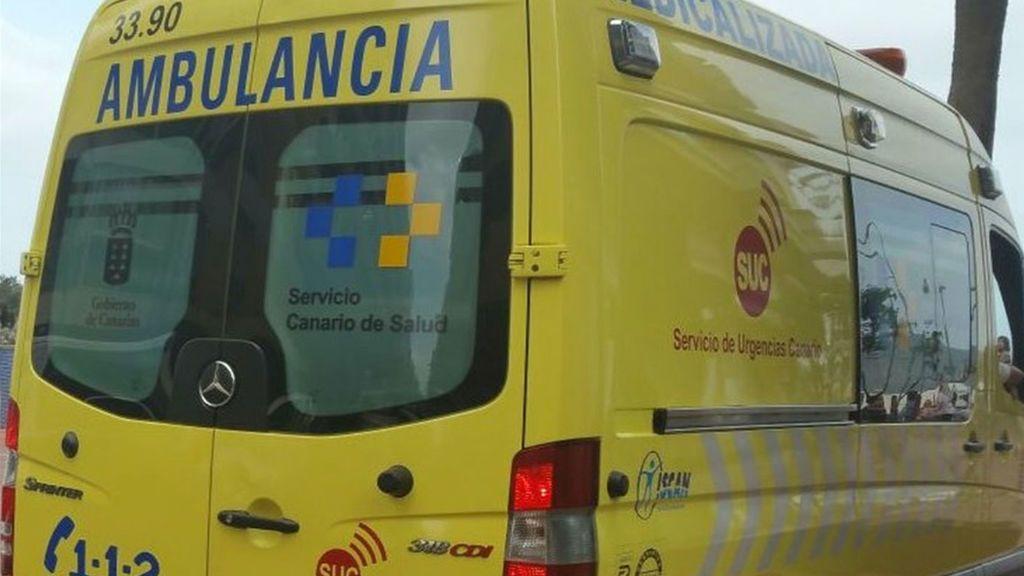 En estado crítico una niña de 3 años al caer desde una segunda planta de un edificio en Tenerife